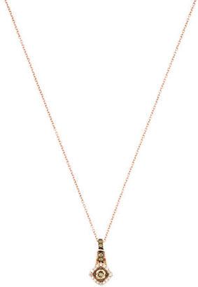 Le Vian 14K Diamond Pendant Necklace $675 thestylecure.com