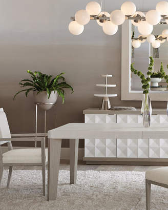 Bernhardt Axiom Dining Table with Two Leaves