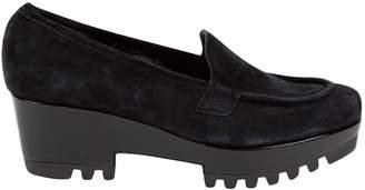 Clergerie Black Suede Heels