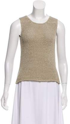 Max Studio Sleeveless Knit Top