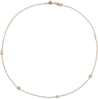 Alison Lou Mini Pasta By The Yard 14-karat Gold Necklace - one size