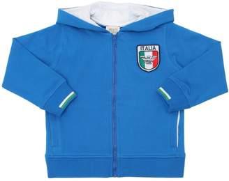 Armani Junior Italy Soccer Team Cotton Sweatshirt