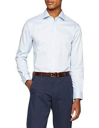 Selected Men's Slhslimpen-Martin Ls Struc B Noos Formal Shirt