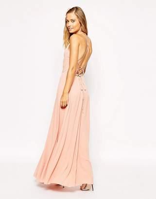 Asos Design Maxi Dress with Tie Back