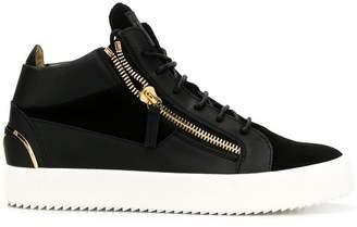 Giuseppe Zanotti side-zip sneakers