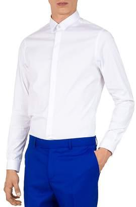 The Kooples Paper Popeline Slim Fit Sport Shirt