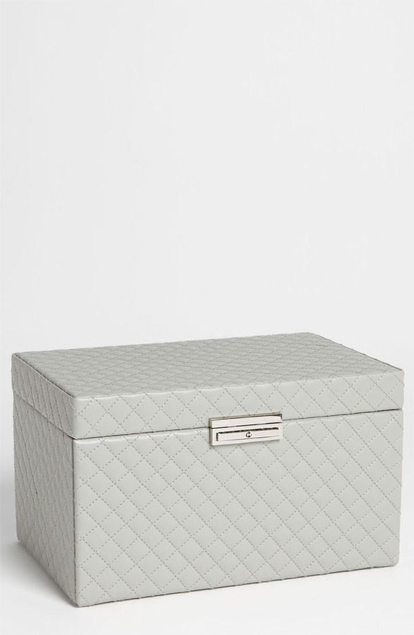 Nordstrom LusterLoc 'Large' Quilted Jewelry Box