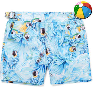 Orlebar Brown Boys Age 4 - 12 Russell Printed Swim Shorts - Blue
