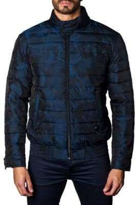 Jared Lang Chicago Camo Puffer Jacket