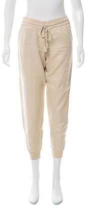 Calypso Linen Mid-Rise Skinny Pants