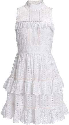 Evelina Cotton Broderie Anglaise Mini Dress