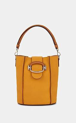 Tod's Women's Double T-Ring Leather Bucket Bag - Yellow