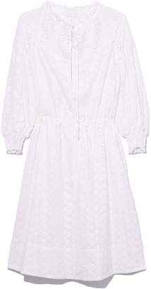 See by Chloe Broderie Anglaise Dress in White