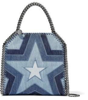 Stella McCartney Falabella Patchwork Denim Shoulder Bag