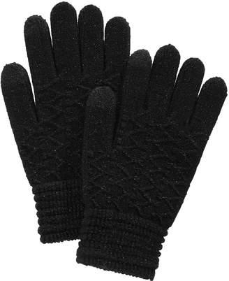 Steve Madden Zigzag Touchscreen Gloves