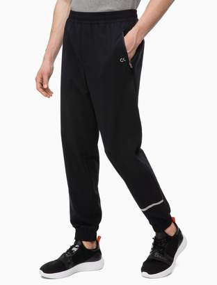 Calvin Klein tech reflective logo jogger sweatpants