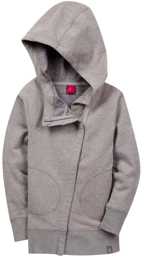 Jill Yoga Stretch Fleece Hoodie (Little Girls & Big Girls)