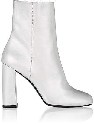 Barneys New York Women's Metallic Leather Ankle Boots
