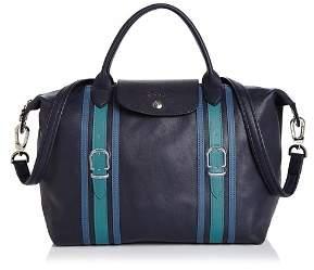 Longchamp Le Pliage Medium Strap Detail Handbag