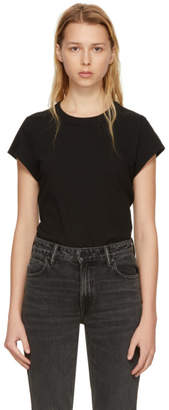 Alexander Wang Black High Twist Bodysuit