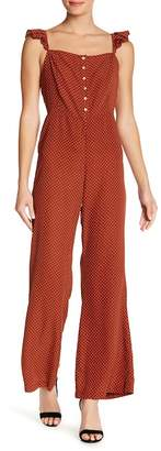 Lucca Couture Polka Dot Wide Leg Jumpsuit