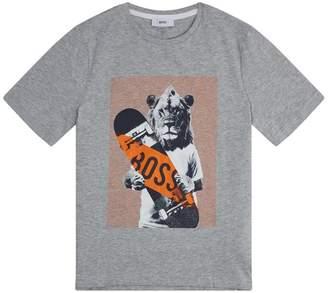HUGO BOSS Lion Logo T-Shirt