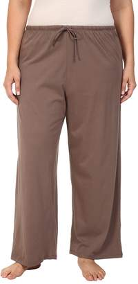Jockey Cotton Essentials Plus Size Long Pajama Pant Women's Pajama