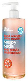 Bliss bliss Blood Orange+White Pepper Soapy Suds