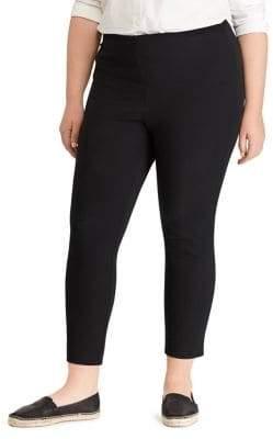 Lauren Ralph Lauren Plus Velvet Skinny Pants