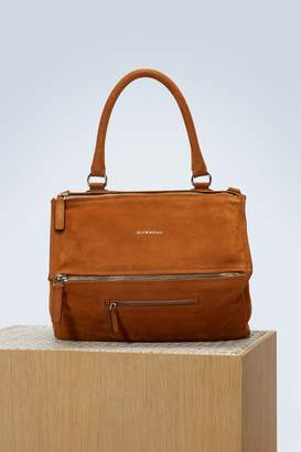 Givenchy Pandora nubuck shoulder bag