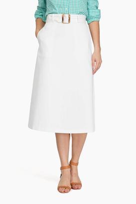 Style Mafia White Tropika Skirt $145 thestylecure.com