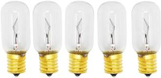 LG Electronics UpStart Components 5-Pack Replacement Light Bulb for LMV2031SB Microwave - Compatible 6912W1Z004B Light Bulb