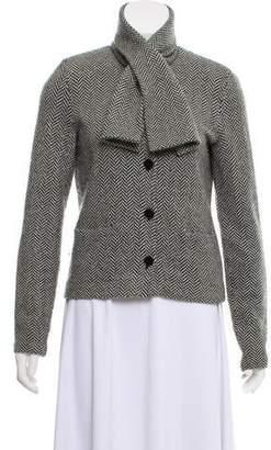 Ralph Lauren Herringbone Wool Blazer