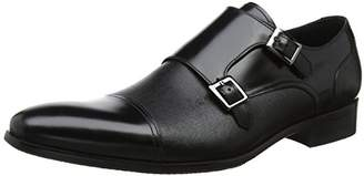 Dune Men's Prodigy Loafers, Black, 44 EU