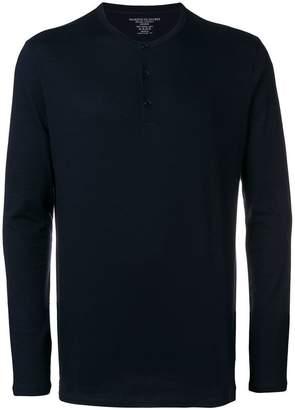 Majestic Filatures long-sleeve buttoned T-shirt