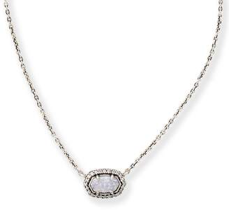 Kendra Scott Chelsea Pendant Necklace in Antique Silver
