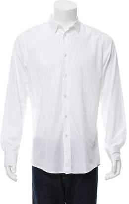 Bottega Veneta Long Sleeve Button-Up Shirt