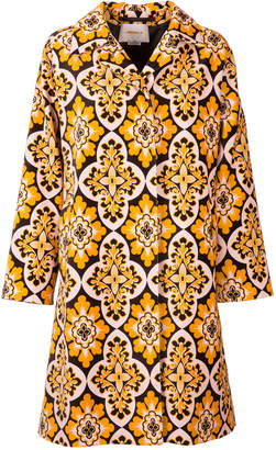 La DoubleJ Velvet Loden Coat