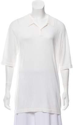 6397 Short Sleeve Silk-Blend Top w/ Tags