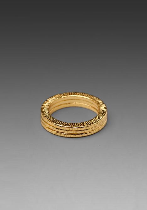 Gorjana BFF Ring Set