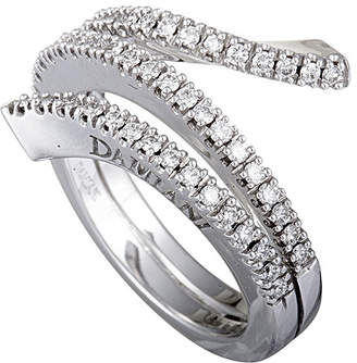 Damiani 18K 0.47 Ct. Tw. Diamond Ring