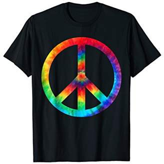 PEACE SIGN Tie Dye T-Shirt | Hippies Christmas Shirts