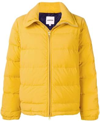 Aspesi padded fitted jacket