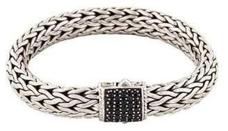 John Hardy Sapphire Wide Classic Chain Link Bracelet