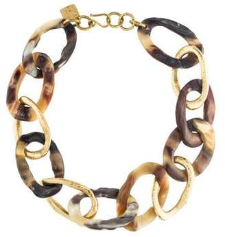 Ashley Pittman Kiungo Mixed Link Necklace