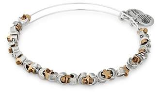 Alex and Ani Moon & Star Expandable Beaded Bracelet