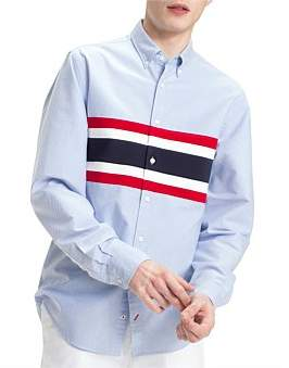 Tommy Hilfiger Ribbed Chest Oxford Shirt