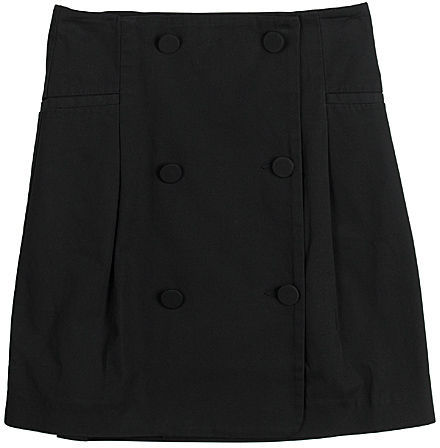 McQ / Highwaist Button Mini