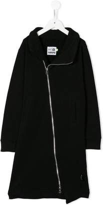 Nununu asymmetric zip long sweatshirt