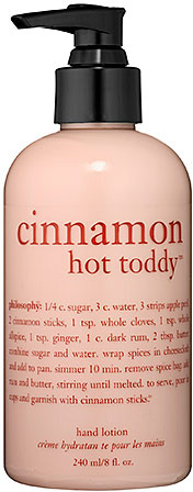 philosophy Cinnamon Hot ToddyTM Hand Lotion